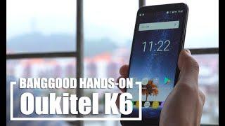 Oukitel K6 REVIEW- Camera test , face unlock, battery test