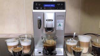 кофемашина DeLonghi ETAM 29.660.SB приготовление кофе  Часть 2