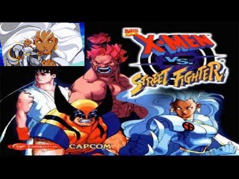 X-Men vs. Street Fighter - Storm - Walkthrough [10]