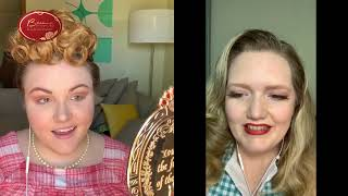 How to do a 1950's I Love Lucy Inspired Look - Tuesday Tutorial Live