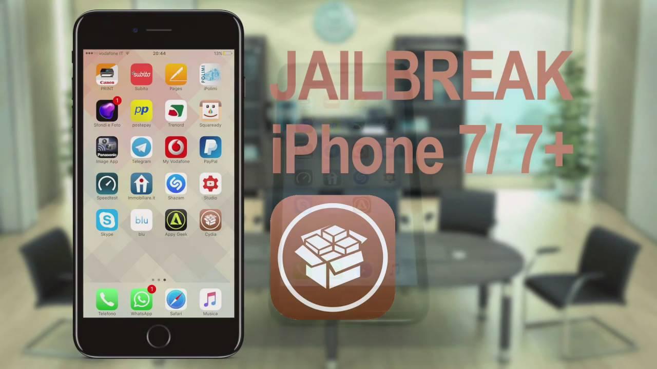 Jailbreak iPhone 7/7 Plus iOS 10.X - Guida [ITALIANO ...