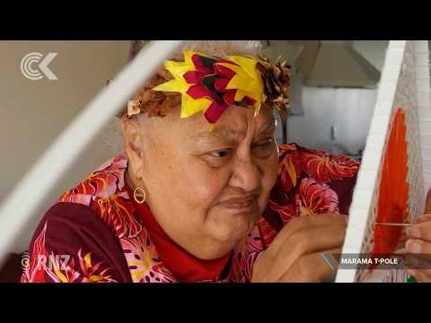 Tuvalu weaver 'driven' to keep art, language alive