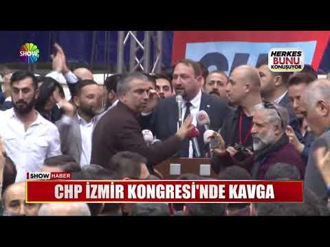 CHP İzmir Kongresi'nde Kavga