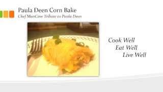 Paula Deen Corn Bake Recipe