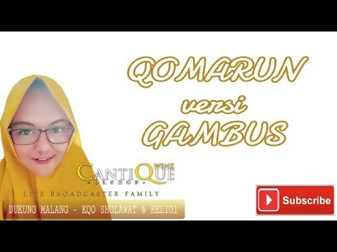 QOMARUN Versi GAMBUS - Sholawat Menyentuh Kolbu ~ Cover By Wenz