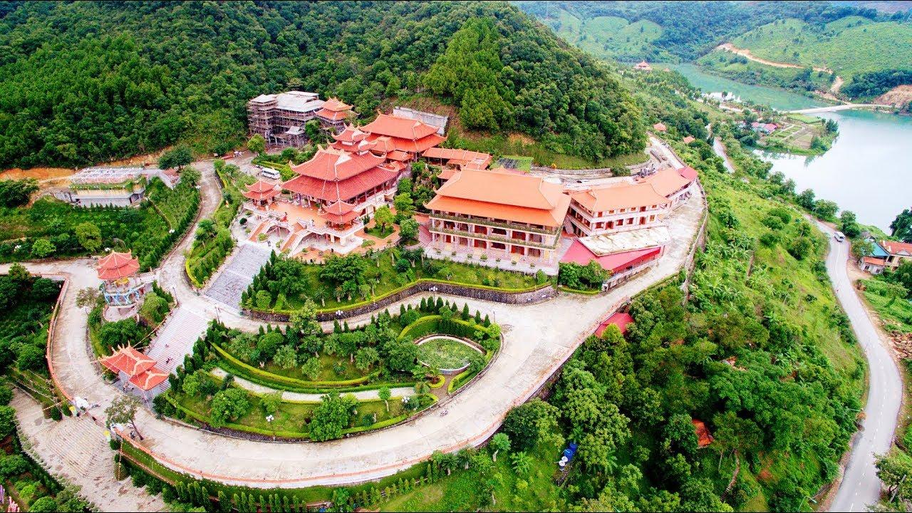 Cai Bau Pagoda – Chùa Cái Bầu – Thiền viện Trúc Lâm Giác Tâm – Khu Du lịch tâm linh 2017