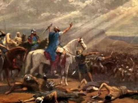 Image result for battle of Jericho painting
