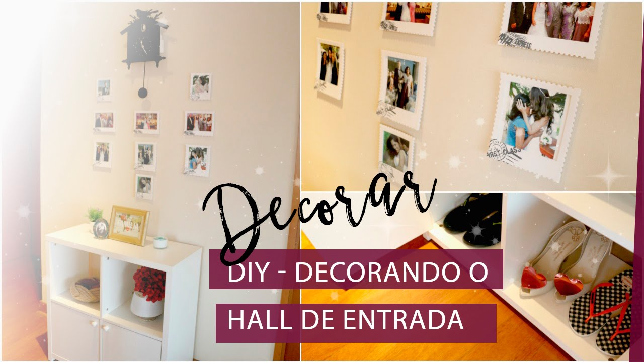 Diy como decorar o hall de entrada da casa la vida for Ideas para decorar la entrada de tu casa