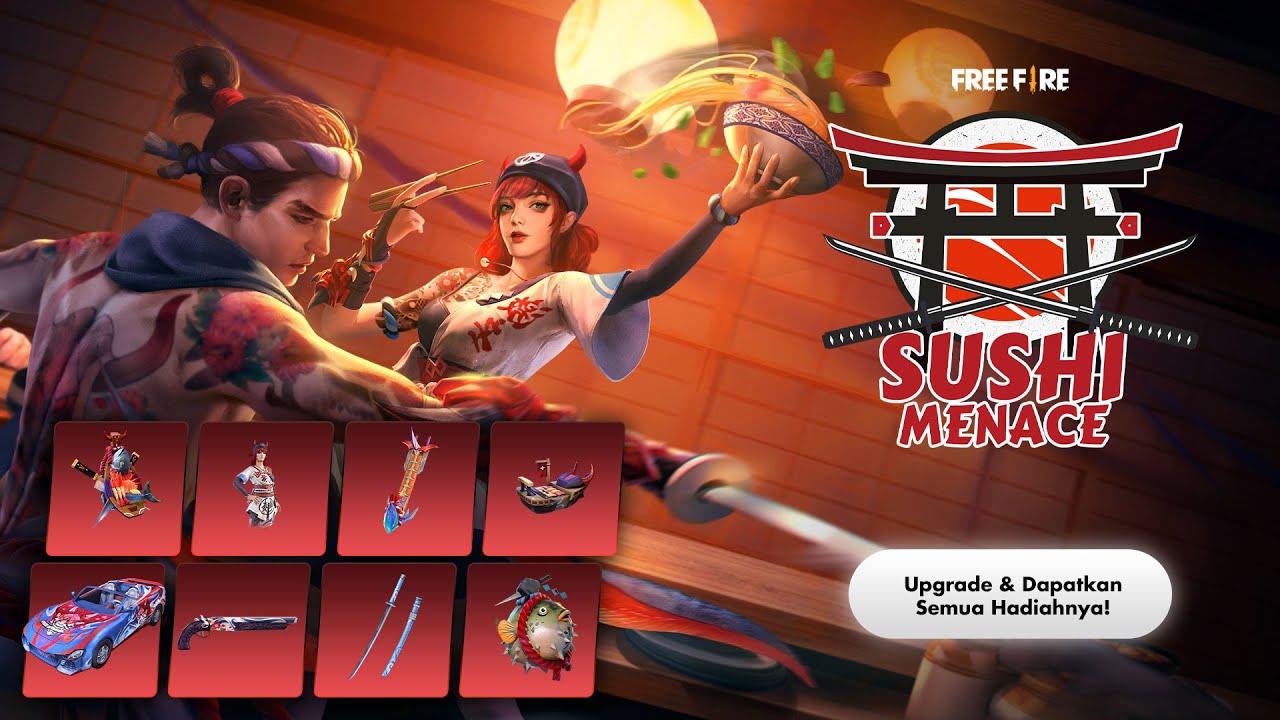 Elite Pass Season 27 Sushi Menace | Pre-Order sekarang, Banyak untungnya!