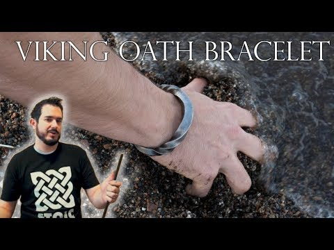 Making A Stainless Steel Torc Bracelet