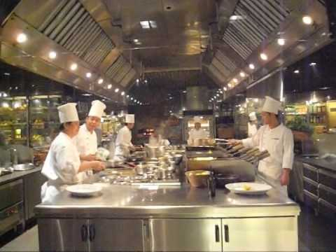 Restaurant open kitchen Stainless Steel Youtube Open Kitchen Concept Mezza9 Youtube