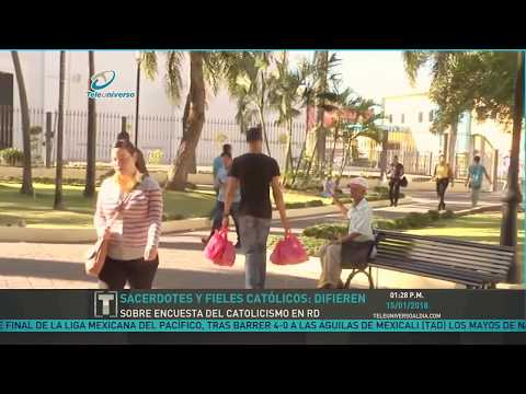 Dominican Republic News today 2018 - Decline of catholic religion in society, catholic church