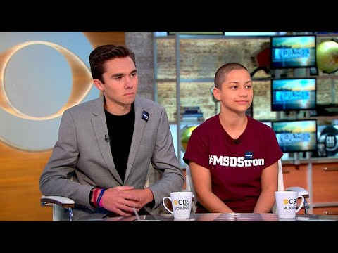 """Parkland shooting survivors on activism: """"We're what every American should be"""""""