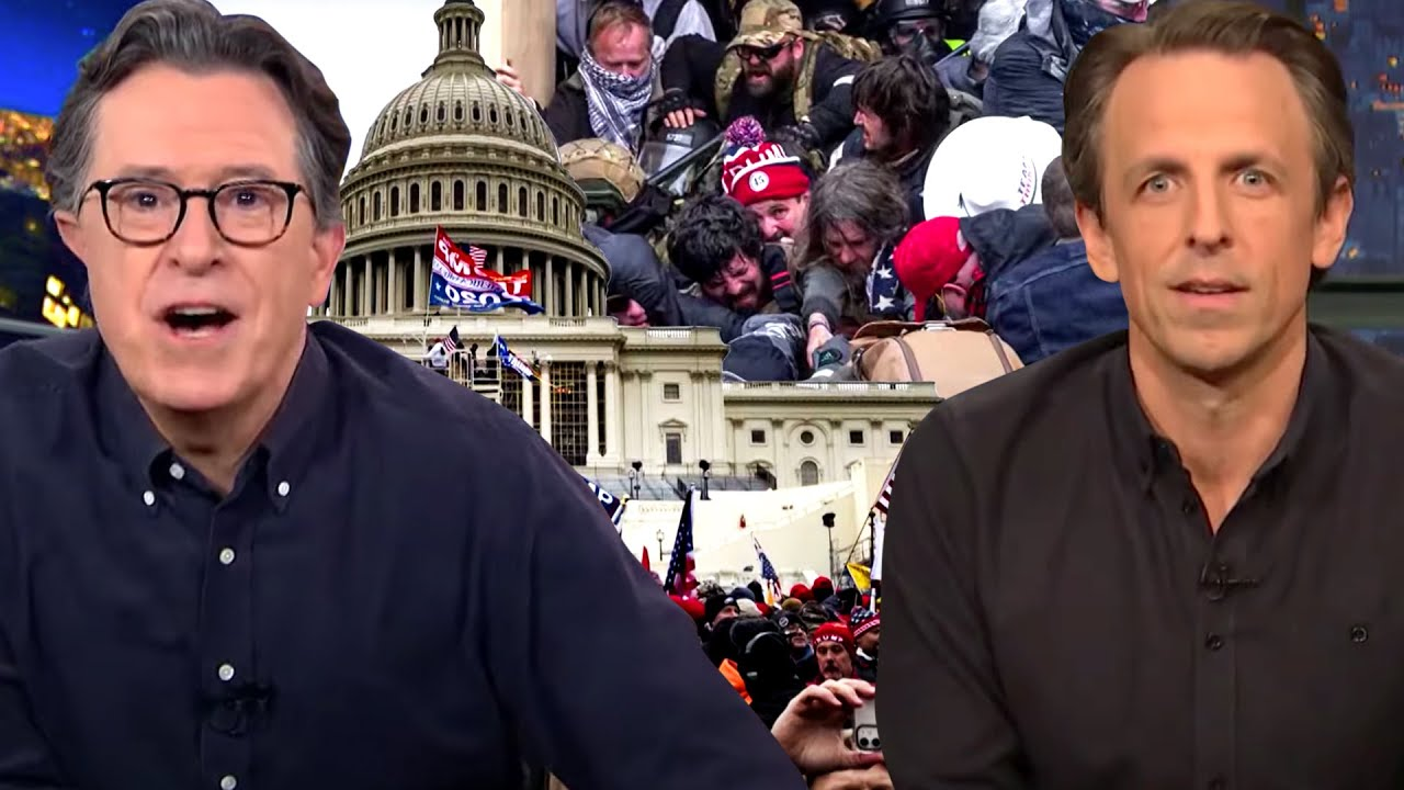 Late Night Hosts REACT to Capitol Riots