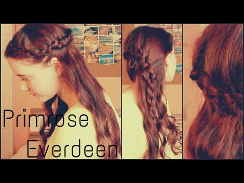 ▻ CATCHING FIRE Primrose Everdeen Frisur Tutorial YouTube