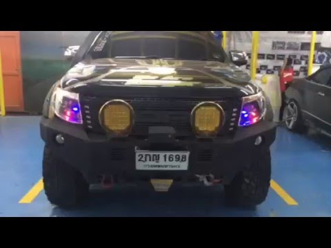 Ford Ranger Wildtrak Transformers Concept ไฟหน้าจัดเต็ม!!!