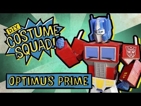 Make Your Own Optimus Prime Costume - DIY Costume Squad