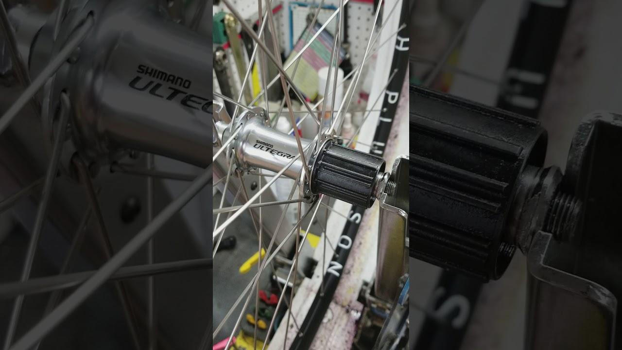 e81c08f7584 Sound check show Shimano Ultegra hub - YouTube