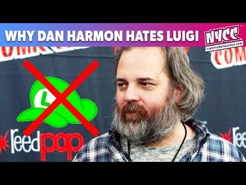 Dan Harmon Hates Luigi