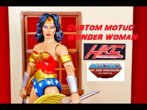 Custom: MOTUC STYLE WONDER WOMAN Masters of the universe classics by HKC