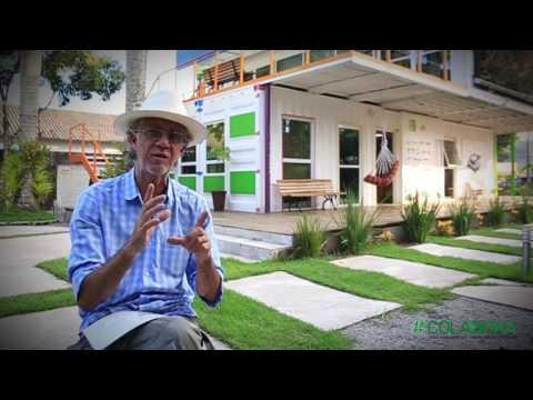 Casa Verde - Construindo em contêineres