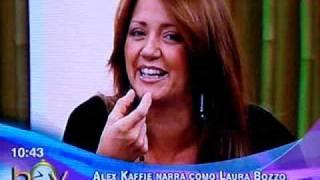 Laura Bozzo se le salio la dentadura en uno de los programas de HOY