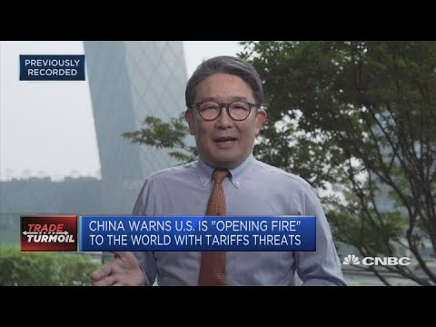 China warns US is 'opening fire' to the world with tariff threats | Squawk Box Europe