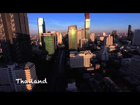 DJI's Phantom 3 Best Drone Footage South East Asia - Myanmar, Thailand ,  Laos