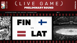 Finland - Latvia | Live | Group B | 2021 IIHF Ice Hockey World Championship