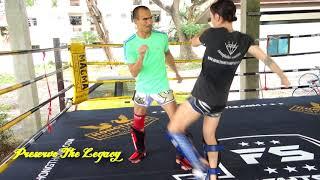 Gen Hongthonglek - Keys to Lead Leg Kicks | Muay Thai Library