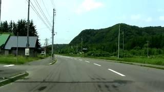 【4倍速】国道239号 興部町~名寄市~幌加内町~苫前町