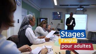 Cours et stages d'anglais pour adultes avec British Council