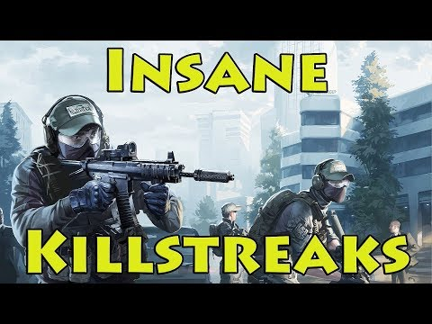 Insane Killstreaks 1 vs 7 Twice! - Escape From Tarkov