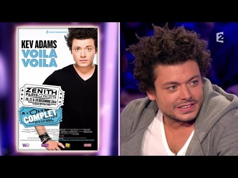 Kev Adams - On n'est pas couché - 22 novembre 2014 #ONPC