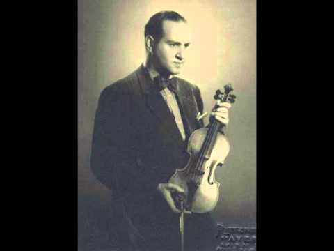 Oistrakh: Tchaikovsky Violin Concerto, 2nd Movement, 1939, his most fervent rendition of the work