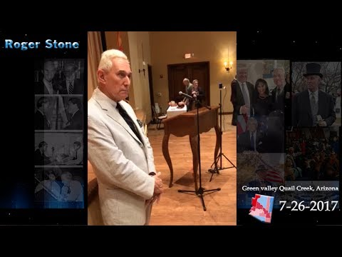 Roger Stone Speech Arizona 7/26/2017
