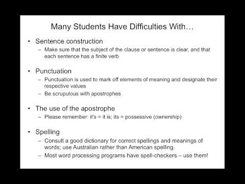 How to Succeed with Written Assessments - YouTube