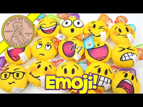 Emoji Plush McDonald's 2016 Happy Meal Kids Toys