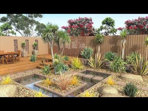 Sketchup 3D Landscape Design   Doovi on Sketchup Backyard id=13504