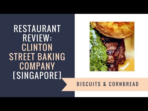 Singapore's Clinton Street Bakery Review (aka Clinton Street Baking Company)