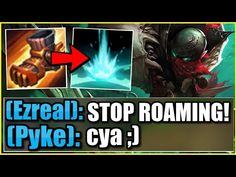 My entire team BEGGED me not to roam as Pyke Support…. so I roamed the entire game 😂
