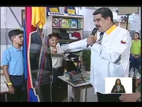 """Presidente Nicolás Maduro, evento """"Alimentar es amar a Venezuela"""", 17 octubre 2019"""