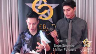 Sam Tsui Interview at Celebrity Connected's Honoring the MTV Movie & TV Awards 2017