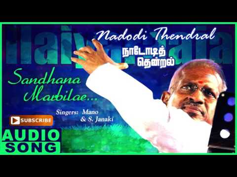 Santhana Marbile Song | Nadodi Thendral Tamil Movie Songs | Karthik | Ranjitha | Ilayaraja