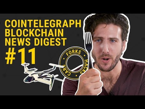 Bitcoin Diamond, Hacks and Flying Forkin' Cars | CRYPTO NEWS Digest #11