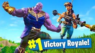 New Thanos Avengers Infinity Gauntlet Mode!   Fortnite Battle Royale Live