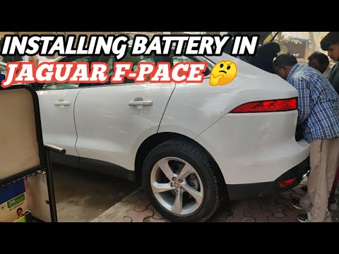 How to Replace Jaguar F-Pace Diesel Luxury Car Battery | Jaguar F-Pace Car Battery Installation