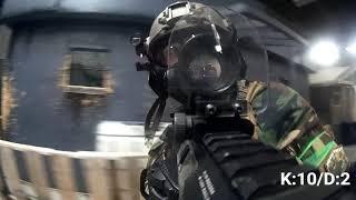 25 kills in 10 Minutes - Polarstar ARP9 Airsoft Gameplay - 3 Cameras