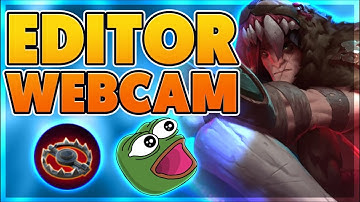 WEBCAM + VOICE CHAT WITH EDITOR (FUNNY) - BunnyFuFuu