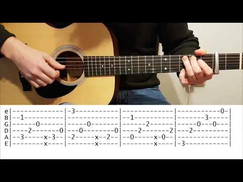 Can't help falling in Love (Elvis Presley) - Fingerstyle Guitar Cover with Free TABS
